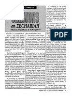 1993 Issue 1 - Sermons on Zechariah, History, Providence and Redemption - Counsel of Chalcedon