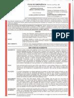 Ficha de Emergência POWER LEAD - Frente