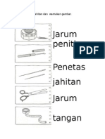 Nama Alatan Jahitan-Aras Rendah