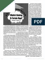 1993 Issue 3 - Postmillennialism