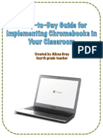 a day-to-day guide for implementing chromebooks