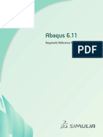 Abaqus 6.11 Keywords Reference Manual