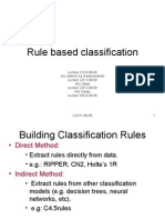 Rule Based Classification