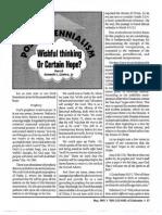 1993 Issue 4 - Postmillennialism