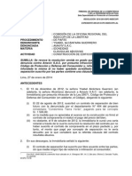 Indecopi- Sala Especializada en Protección Al Consumidor, Resolución 0216-2014- Cláusulas Abusivas