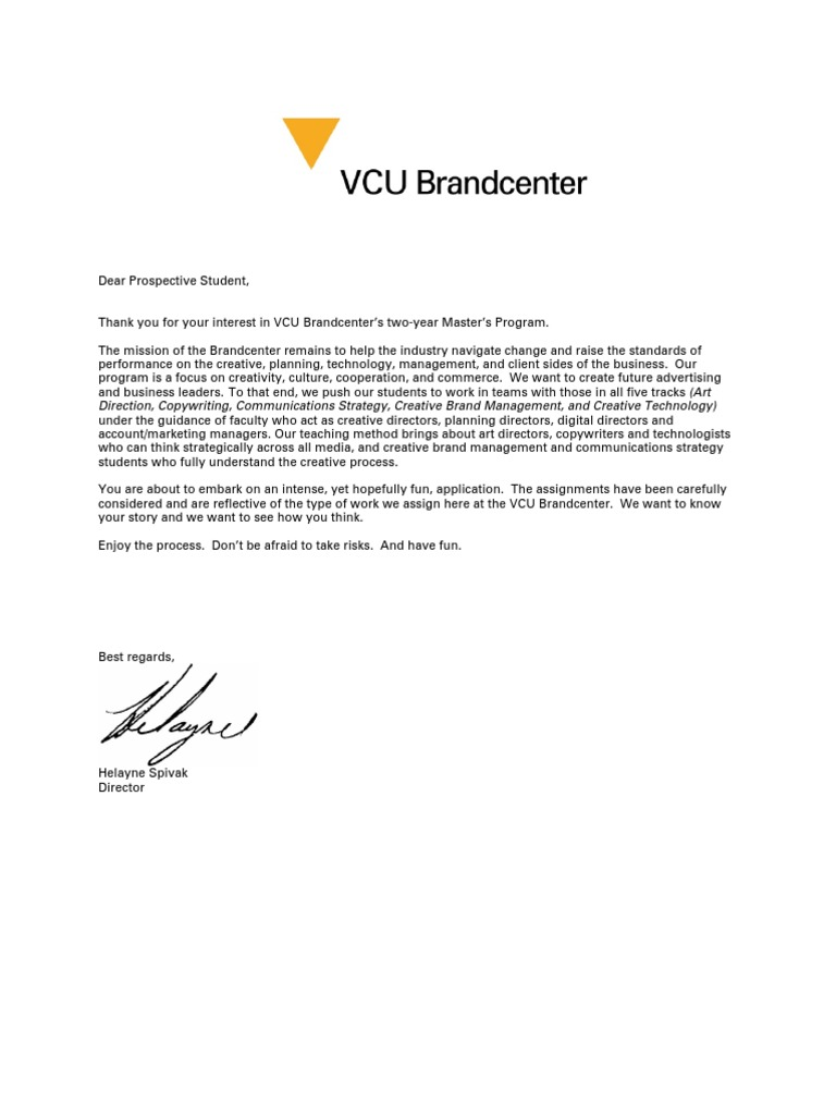 brandcenter application communication advertising