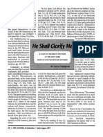 1993 Issue 6 - He Shall Glorify Me, Doctrine of the Holy Spirit in the Westminster Standards Part 4 - Counsel of Chalcedon