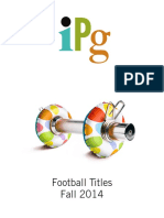 IPG Fall 2014 Football Titles
