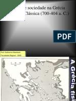 Política e Sociedade Na Grécia Antiga