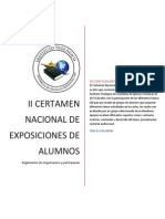 Reglamento de Participacion de Alumnos ITAIC