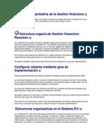 Estructura Organizacion FI