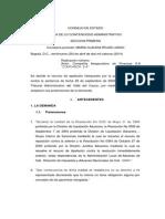 Nulidad y Restablecimiento Del Derecho CONFIANZA SA