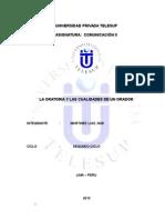 A-monografia La Oratoria y Cualidades Del Orador