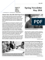 PLS Newsletter - May 2014