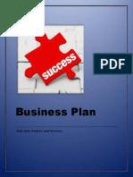 Business Plan (SBM Project)
