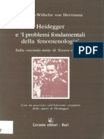 Heidegger e I Problemi Fondamentali della Fenomenologia. Sulla «Seconda Metà» di Essere e Tempo - Friedrich-Wilhelm von Herrmann