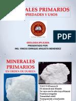 Presentación Minerales