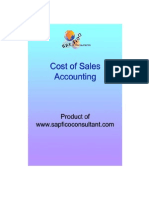 Cost of Sales Accounting