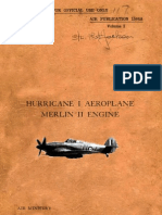 Hurricane I - Aeroplane with Merlin II - Volume 1 (1939)