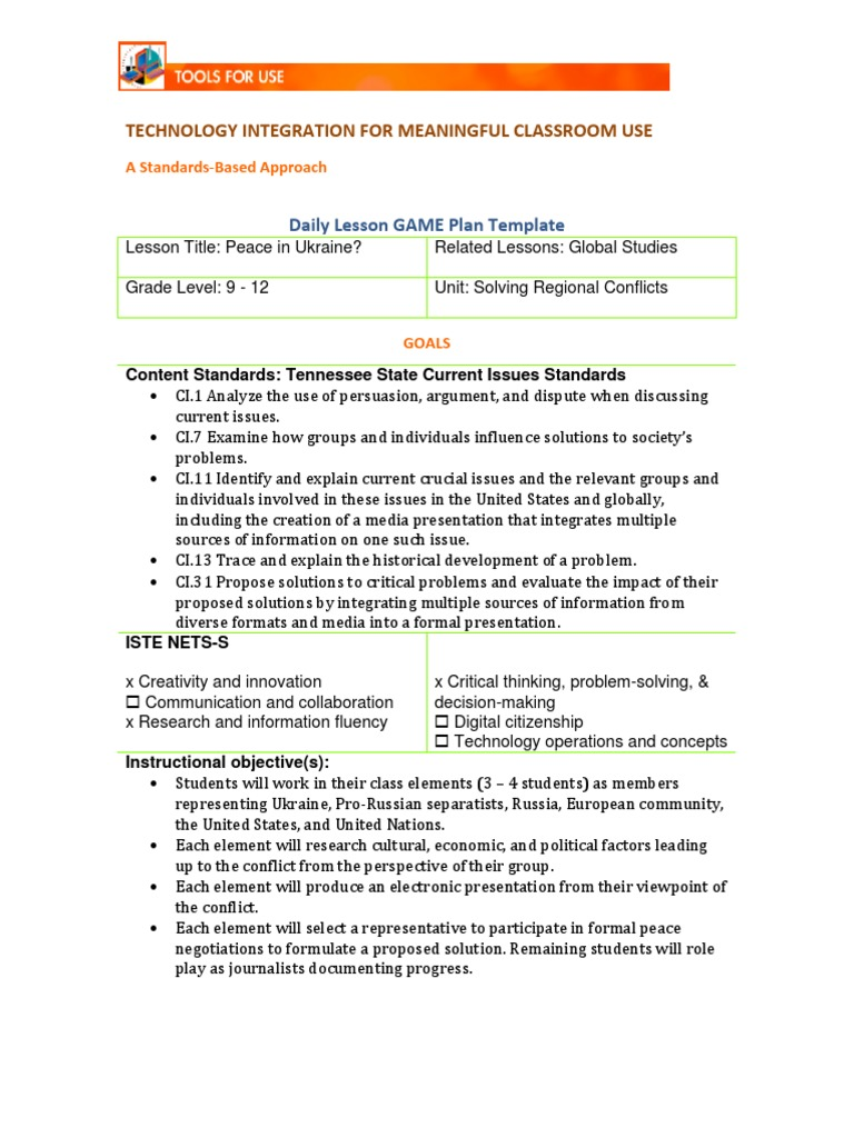 Amazing Cps Lesson Plan Template Contemporary Professional - Technology integration lesson plan template