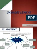 UNIDADES LEXICAS