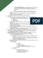Exam 2 Notes Nursing Adv med surg