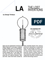 99446100 Trinkaus Tesla the Lost Inventions 1988