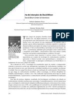A Carta de Intenções de David Bloor - Revista Manguinhos