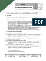 IT-SAS-002 Estándar Botiquin de Primeros Auxilios