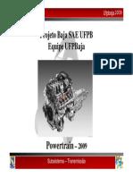 UFPBaja_Transmissão