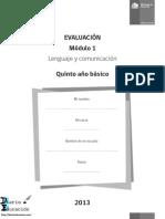 Pruebas de Evaluación 5 Lenguaje Diarioeducacion Blog