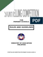 storytelling rules primary school