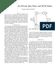 Simulating Public-Private Key Pairs and SCSI Disks