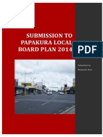 Submission to Papakura Local Board Plan PDF Mode