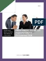 Diploma of Interpreting Textbook (Online)