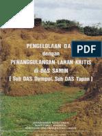 1988 PDAS Dgn Penanggulangan Lahan Kritis Di DAS-Samin