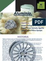 Aluminio diapostiva