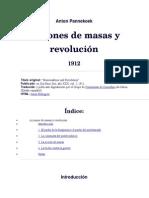 1912. Acciones de Masas y Revolución