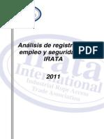 Spanish IRATA Stat Report 2011