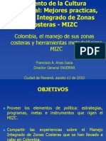 Manejo de Zonas Costeras Colombianas