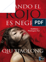 Cuando El Rojo Es Negro - Qiu Xiaolong