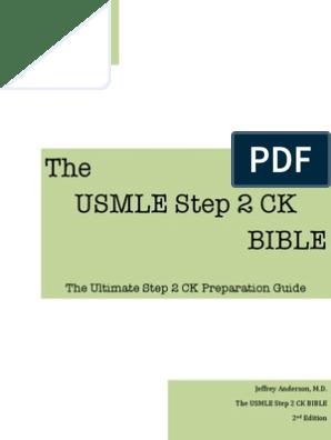 USMLE Step 2 CK Bible 2nd Ed   Esophagus   Colonoscopy