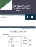 Control de Iluminación Mediante Potenciometro y Pwm