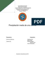 Informe Nro 4 (Estudio de Una Cuenca Hidrografica)