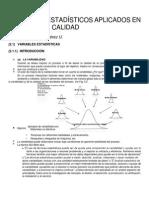 Principios Estadísticos Aplicados en Control de Calidad