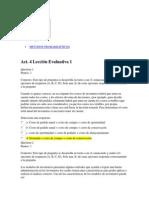 METODOS PROBABILISTICOS ACT4