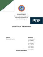 Distribucion de La Probabilidad (Trabajo)