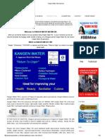 Kangen Water Internasional