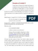 Paradox of Article 9
