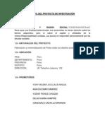 Evaluacion de Proyectos (Grupo Yony)